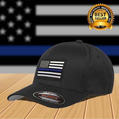 FlexFit Thin Blue Line Hat