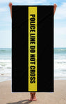 Police - Blessed are the Peacemakers - Beach Towel
