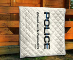 Police - Blessed are the Peacemakers - Baby Blanket/Quilt