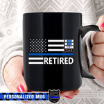 Thin Blue Line Mug - 15oz