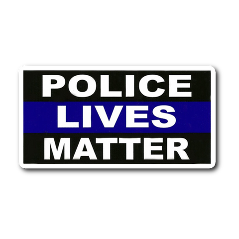 Police Lives Matter - Thin Blue Line Sticker/Decal