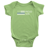 Proud Son - Infant Baby Onesie Bodysuit