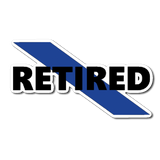 Retired Police Officer Sticker/Decal