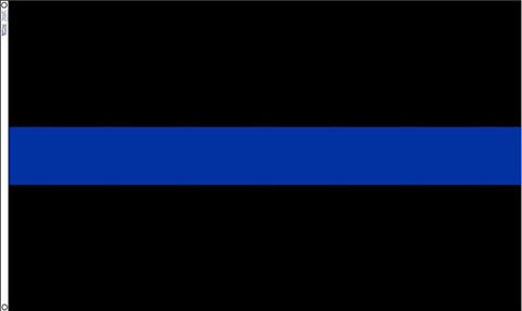 Thin Blue Line Flag - 3 x 5 Foot