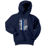 "Youth ""Protect Serve Honor"" Hoodie - Kids"