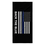 Back the Blue - Thin Blue Line Beach Towel