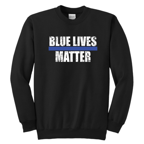 Blue Lives Matter - Kids Sweatshirt