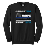Guardians by choice, Heroes by chance - Kids Sweatshirt