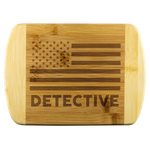 Detective - Wood Cutting Board