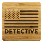 Detective Coasters - Set of 4