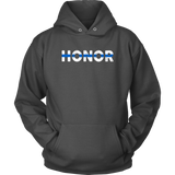 """Honor"" - Thin Blue Line Hoodie"