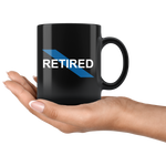Retired - Thin Blue Line Mug