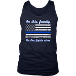 In this family no-one fights alone Tank Tops