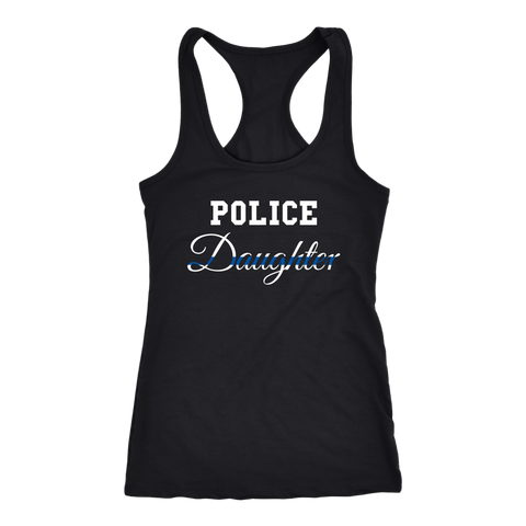 Police Daughter - Women's Racerback Tank Top