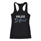 Police Girlfriend - Women's Racerback Tank Top