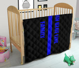Thin Blue Line Family - Baby Blanket/Quilt