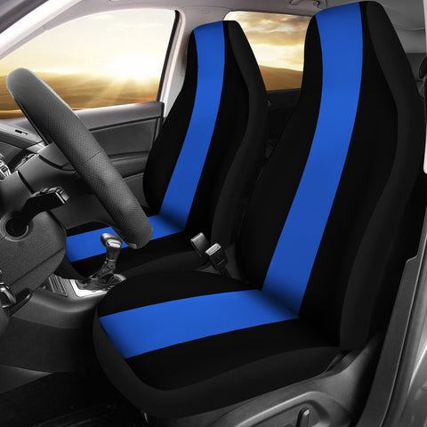 Thin Blue Line - Car Seat Covers - Type 1
