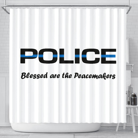 Blessed are the Peacemakers - Shower Curtain