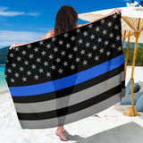 Thin Blue Line Flag Sarong