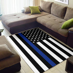 Thin Blue Line Rug - Type 1
