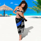 Thin Blue Line Flag - Sarong 2