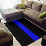 Thin Blue Line Rug - Type 3