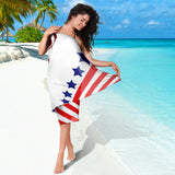 Stylish American Eagle - Sarong 1