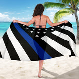 Thin Blue Line Flag - Sarong 6