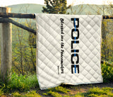 Police - Blessed are the Peacemakers Quilt