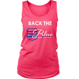 Women's Back the Blue Badge - Tank Top