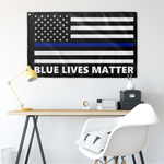 Blue Lives Matter Flag - Version 3