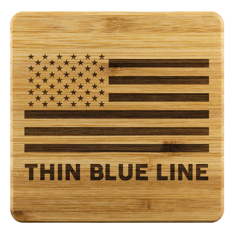Thin Blue Line Coasters
