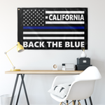 BTB Flag - Design 6-1 - Mockup - California