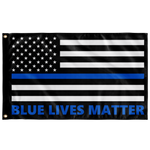 Blue Lives Matter Flag