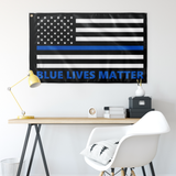 Blue Lives Matter Flag - Version 5