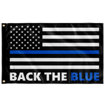 Back the Blue Flag - Version 4