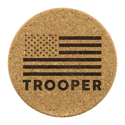 Trooper - Round Coasters
