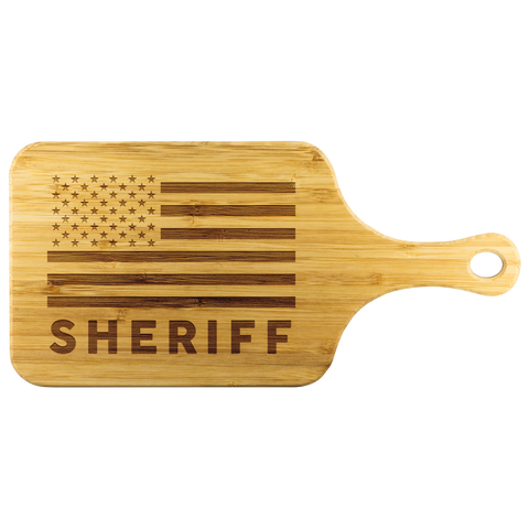 Sheriff - Cutting Board with Handle