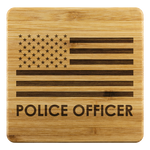 Police Officer - Coasters