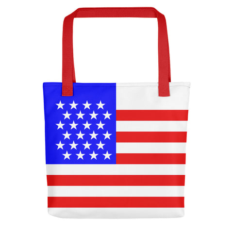 American (USA) Flag - Tote Bag