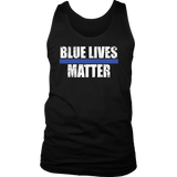Blue Lives Matter Tank Tops