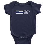 Proud Police Son - Infant Baby Onesie Bodysuit