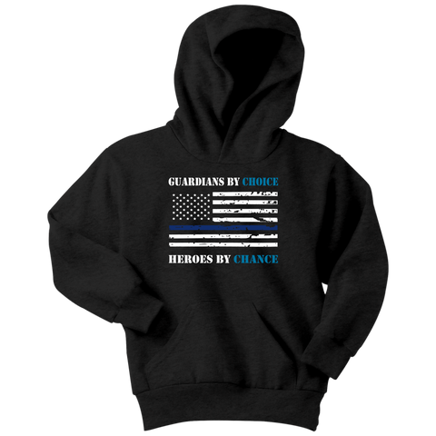 Guardians by choice, Heroes by chance - Kids Hoodie