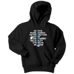 """REMEMBER"" Thin Blue Line Kids Hoodie"