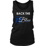Back the Blue Badge - Women's Tank Top