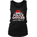I Kissed A Police Officer - Women's Tank Top