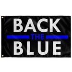 Back the Blue Flag