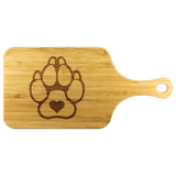K9 with Heart - Cutting Board with Handle