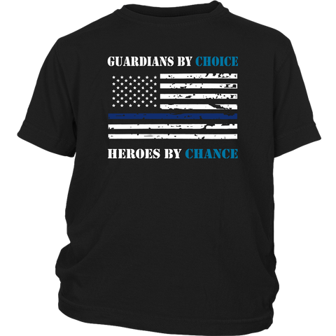 Guardians by choice, Heroes by chance - Kids Shirt