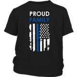 Proud Family - Thin Blue Line - Kids Shirt